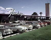 8x10 Print Historic Flamingo Hotel Las Vegas Nevada 1950's #FLLV
