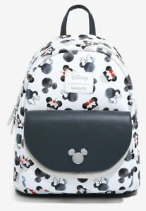 Loungefly Disney Mickey Mouse Minnie Mouse Cupcake Mini Backpack Bag
