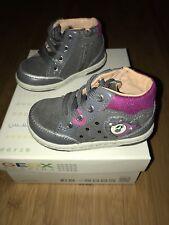 Für Schuhe Mädchen Aus KaufenEbay Geox Leder Mit Licht Günstig n8O0wPk