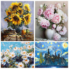 Oil Paint By Number Nature Paint Diy On Canvas Handpainted Adults Beginner Kids