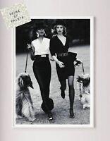art print poster home decor Fashion Beauty dogs photography black & white vogue