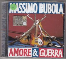 MASSIMO BUBOLA - amore & guerra CD