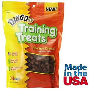 Dingo Dog Training Treats for Obedience Behavior Training Real Beef Made in U...