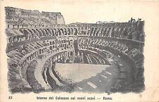 BR32643 Roma Interno del Colosseo coi nuovi scavi italy