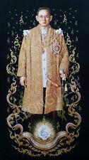 The King Bhumibol Adulyadej ,King rama 9, thai print on colt flannel well .