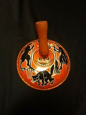 VINTAGE HALLOWEEN THEMED TIN  KIRCHHOF NOISE MAKER! VERY NICE CONDITION!