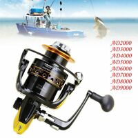 12 + 1BB Speed Fish Spinning Reel Metal Spool for Saltwater Freshwater Fishing