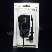 ICOM HM-75LS Remote Control Speaker Microphone For ID-31 ID-51 IC-DPR3 Original