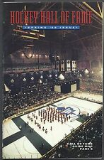 1999 Hockey Hall of Fame Guide, Lemieux Induction, France St. Louis