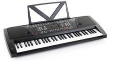 TASTIERA DIGITAL PIANO KEYBOARD 61 TASTI 100 VOCI & RITMI LEGGIO LED DISPLAY