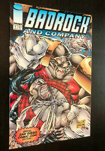 BADROCK AND COMPANY #1 -- SDCC Variant Cover -- SIGNED By Todd Nauck / Stucker