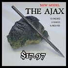"""THE AJAX"" STEEL NINJA  SPEAR TIP THROWING TORPEDO SPIKE DEATH STICK"