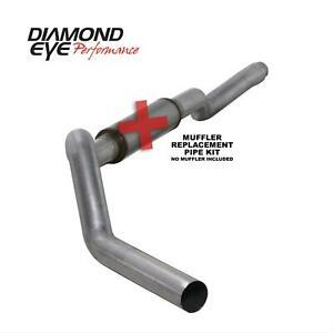 "Diamond Eye Exhaust System 5"" for 06 - 07 Chevy / GMC 6.6L V8 Diesel # K5126A-RP"