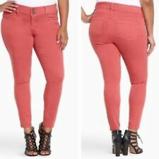 7e0af5c7a2b Torrid Women s Red Mineral Wash Plus Size 28T Jeggings - New With Tags!