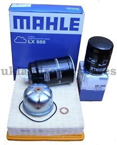 LAND ROVER DISCOVERY 2 & DEFENDER TD5 SERVICE KIT MAHLE OIL & AIR FILTERS OEM