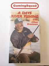 A Days River Fishing, Clive Branson  VHS Video, Supplied by Gaming Squad