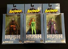 DC Direct Batman Hush Series 1 Figures Hush, Poison Ivy, And  The Joker New