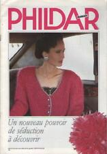 Catalogue Revue Phildar Mailles : Un Nouveau Pouvoir de Séduction - 1988