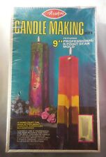 "1972 Avalon Candle Making Kit NIB 9"" Professional 5 Point Star Mold No. 4953"