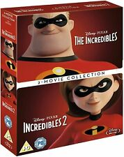 New listing The Incredibles 1 + 2 Double Pack (Blu-ray, 2 Discs, Disney, Region Free) *New*