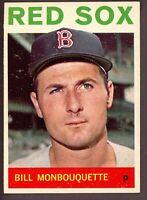 1964 Topps Baseball #25 Bill Monbouquette Boston Red Sox - SBID004