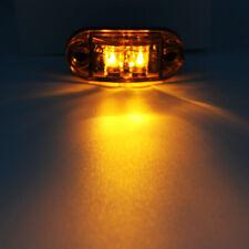LED Side Marker Light White Lamp 12V 30V Car Truck Van Trailer Boats Side Lights