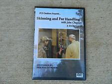 PcsOutdoors Skinning and Fur Handling DVD with John Chagnon and Dave Cronk