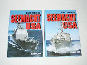 Seemacht USA, Rüstung-Organisation-Dislozierung, 2 Bände, Stefan Terzibaschitsch