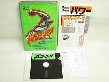 "X68 POWER LEAGUE ref/5357 X68000 5"" 2HD Import Japan Game x68"