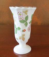 Wedgwood Wild Strawberry Small Vase England