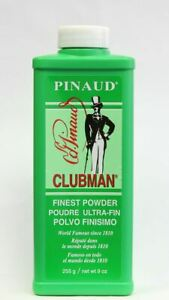 Clubman Pinaud Talc 255g Mens Talcum Powder