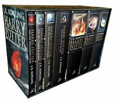 Harry Potter Complete Series UK Adult Edition Hardcover Box Set OUT OF PRINT NEW