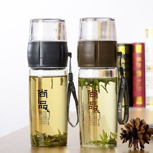 Portable Tea Cup Filter Independent Chinese Drinking Cup Water Bottle Drinkware