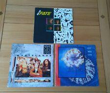 "Lote de Trabajo de rock clásico 3x Reino Unido 7"" singles destino Walk On Fire Zeno Mangas de imagen"