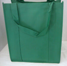 Reusable GROCERY BAG - TROPICAL GREEN - Large Size Recyclable Shopping Tote