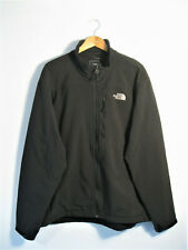 THE NORTH FACE | Men's Black SOFT SHELL Full Zip FLeece Lined Jacket | XL