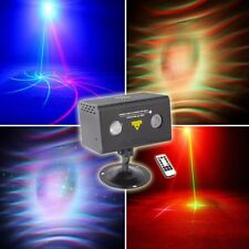 Remote Water Galaxy Wavy Effects 20 Gobo Laser Light Stage Xmas Party DJ RGB LED
