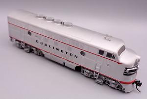 Stewart Hobbyist of Boston F3 - CB&Q Burlington - DCC - F3-A HO Scale Locomotive