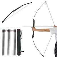 35-40lbs Takedown Recurve Bow Straight Bow Kit Archery Practice Shooting Target