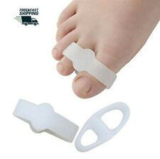 Gel Toe Spacer Toe Separators for bunion pain relief - Two Loop : 4 Pack Us Co