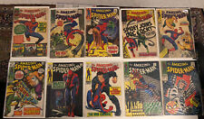 spiderman silver age comics Issues 38,53,54,56,57,58,65,73,75,85 Reader Copied