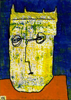 this just goes to prove that things never get... e9Art ACEO Outsider Art Brut