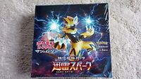 Pokemon Card Game sm7a Thunderstorm Spark Booster Expansion pack Japanese BOX