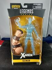 Hasbro Marvel Legends NIB Juggernaut BAF Iceman