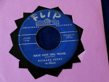RICHARD BERRY~ HAVE LOVE WILL TRAVEL~ G++~NO ROOM~ FLIP 349 ~ NORTHERN SOUL 45