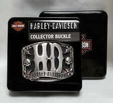 Harley-Davidson Willie G Skull Collector Buckle by LODIS Men's Belt Buckle