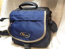 Nice Lowepro Nova 2 Blue shoulder camera Bag for Digital Slr outfit + lenses