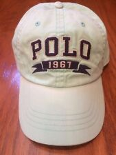 NWT POLO RALPH LAUREN OFFSHORE GREEN CLASSIC 6 PANEL HAT VINTAGE WASH SPORTS CAP