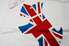 NWT! RADLEY London Ivory Terrior Union Jack Tote Bag Authentic from Japan #532
