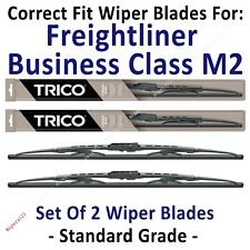Wipers 2-Pack Standard - fit 2004-2012 Freightliner Business Class M2 - 30221x2